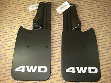 Toyota Tacoma Truck 4x4 Amp Pre Runner Rear Mud Flaps And Brackets And Bolts New Fits Toyota