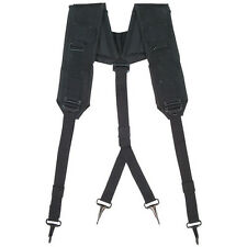 Tactical Nylon LC-1 Y-Type Suspenders - BLACK