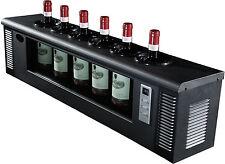 CAVE VINUM CV-6, elektrischer Flaschenkühler, Weinkühler für Offenausschank