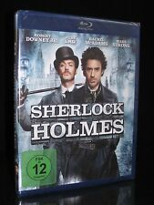 BLU-RAY SHERLOCK HOLMES - 2009 - ROBERT DOWNEY JR. + JUDE LAW - GUY RITCHIE *NEU