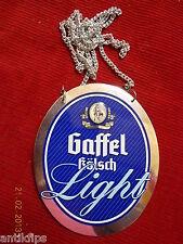 Gaffel Kölsch Light Zapfhahnschild P482