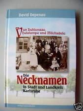 Necknamen Stadt Landkreis Karlsruhe 2001