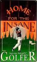 *608 Golfspiel Golfen Poster Fun Werbung Golfer Schild Golfclub Golfplatz Sign