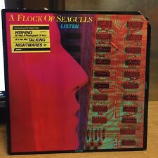 A Flock of Seagulls Listen LP Arista 83 VG+ Hit: What Am I Supposed To Do