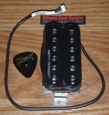 Gibson Les Paul Pickup Dirty Fingers Double Black Neck Guitar Parts Humbucker HP