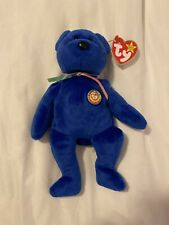 Rare Retired Ty Beanie Baby Clubby W/tag With Errors