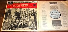 STRAUSS DON QUIXOTE SZELL T/S B/S TURQUOISE SILVER COLUMBIA STEREO SAX 2495 LP