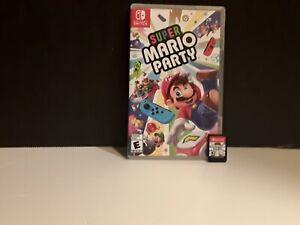 Super Mario Party - Nintendo Switch, 2018 *INCLUDES CASE, COVER ART & CARTRIDGE*