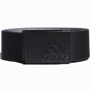 ADIDAS REVERSIBLE WEBBING BELT / ONE SIZE FITS ALL / ALL COLOURS / NEW FOR 2021