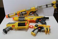 Nerf N-Strike Lot of 4 Spectre Rev 5 Alpha Trooper CS-18 Maverick Nite Finder