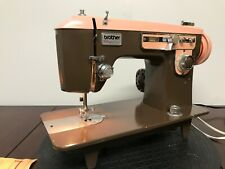 Vintage Brother Charger 651 Heavy Duty Zig Zag Sewing Machine Serviced