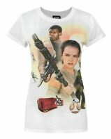 Star Wars Force Awakens Heroes Sublimation Women's T-Shirt