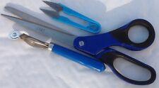 3 Types Tailors Scissors TRACING WHEEL  Scissor Fabric Cuter Clipper Snip Thread
