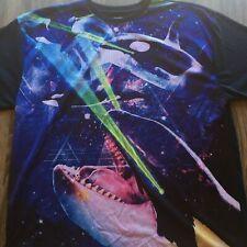 Chemistry Mens Mesh Jersey Shirt 2XL Killer Whales Orcas Laser Eyes T-Shirt