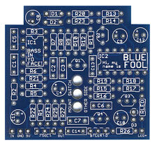 Blue Fool - Pro Fabricated PCB for DIY Stompbox Build