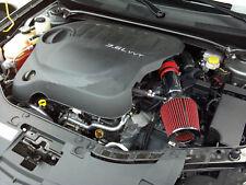 BCP RED 2011-2015 Dodge Journey 3.6L V6 Short Ram Air Intake +Filter