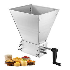 Macina Cereali Manuale 3-Rullo Regolabile Fresatrice per Farina Mulino Cereali