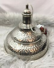 New Hanging Pendant Chrome Light Made In India 25 Watts Hardware Included