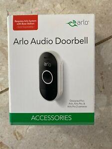 Arlo Doorbell AAD1001 Wire Free Remote Communications Mobile Wifi Wireless