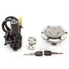 For KAWASAKI 08-12 Ninja 250R EX250J Ignition Switch Gas Cap Seat Lock Key Set