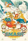 Retro Super Smash Bros Poster | Framed Art | Nintendo Classic | NEW | USA