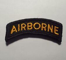NWOT US Army Air Borne Tab for Dress Uniform Unit Patch Insignia SSI
