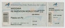 PORTUGAL MADONNA RE-INVENTION WORLD TOUR TICKET 2004