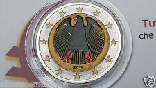 2 euro 2011 GERMANIA color farbe kleur Allemagne Alemania Deutschland Germany