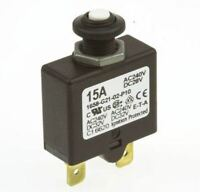 ETA 1658 1 Pole Thermal Magnetic Circuit Breaker 1658-G21-02-P10-15A