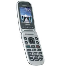 Pantech P2030 Breeze III 3 Flip Cell Phone AT&T No Contract Camera GSM GPS Gray