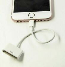 30 Pin Female iPhone 4 to Lightning 8pin Male Adapter Charger for iPhone 5 6 7 X