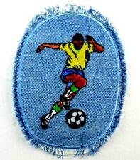 Jeans-Applikation zum Aufbügeln Bügelbild 1-472 Fussballspieler