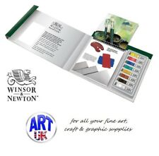 WINTON Oil Colour Artists TIPS & TECHNIQUES Gift Set, Paint Tubes, Brush, Pad