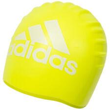 Adidas Silicona Gráfico Gorra Gorro de Baño Gorro Deporte Náutico AJ8655 Nuevo
