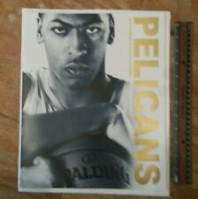 ANTHONY DAVIS NEW ORLEANS PELICANS 2014-15 SEASON TICKET RENEWAL BOOKLET
