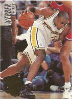 Chris Webber Fleer Ultra 1994/95 - NBA Basketball Card #64