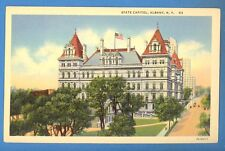 NEW YORK - ALBANY,  STATE CAPITOL POSTCARD 353