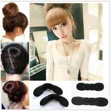 2* Accessoire des cheveux Éponge magique Clip mousse Bun bigoudi Vente