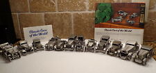 Vintage Lot 12 Classic Cars Of The World Collection Danbury Mint Pewter