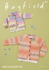 Sirdar 4838 Knitting Pattern Baby Children Cardigans in Hayfield Baby Blossom DK