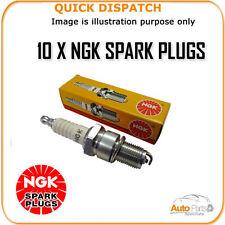 10 x ngk spark plugs pour Lamborghini Gallardo 5.0 pfr7g 2005-2009