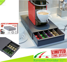 CASSETTO PORTA CAPSULE UNIVERSALE COFFE BOX PER CIALDE NESPRESSO LAVAZZA ECC.