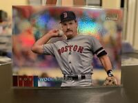 2020 Topps Stadium Club Chrome Wade Boggs Gold Rainbow Refractor 25/50 NM