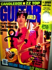 PRINCE  GUITAR WORLD  Magazine November 1994 Symbol Guitar Foldout Poster COOL