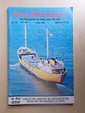 SEA BREEZES - THE MAGAZINE OF SHIPS & THE SEA 534 JUNE 1990 - TITANIC MUSICIANS