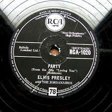 0141/ ELVIS PRESLEY- Party-  Got a lot o´ livin´ to do -R´n`R-Schellack