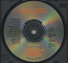 PAULA ABDUL Forever Your Girl (1988 U.S. 10 Track CD)