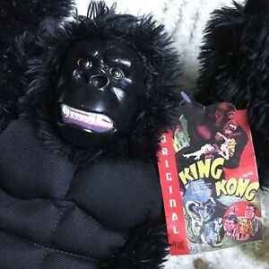"""King Kong The Original OFFICIAL Plush Ape Gorilla Toy 13"""" With Tags"""