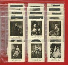 More details for gainsborough series - ardath tobacco - 1915 large cigarette card set (te36)
