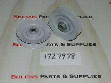 Bolens Idler Pulleys (set of 2)1727978 Fits PTO Drive on Eliminators & QT series